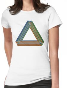 Sarcone's tribar Womens Fitted T-Shirt