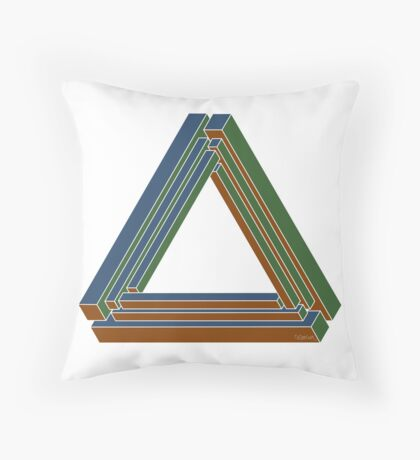 Sarcone's tribar Throw Pillow