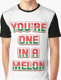 One In A Melon Graphic T-Shirt