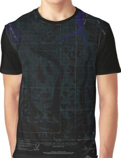 USGS TOPO Map Alaska AK Anchorage C-1 353985 1960 63360 Inverted Graphic T-Shirt