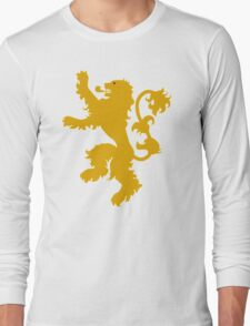 Lannister Sigil Game Of Thrones T-Shirt Long Sleeve T-Shirt