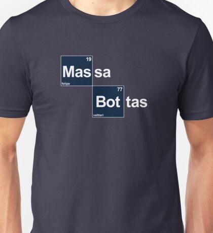 Team Massa Bottas (black T's) Unisex T-Shirt