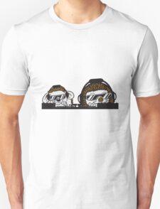 team süße kleine niedliche igel familie 2 freunde kind mama papa baby  Unisex T-Shirt