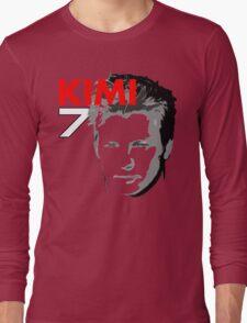 Kimi 7 - Team Garage T-Shirt Long Sleeve T-Shirt