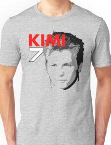 Kimi 7 - Team Garage T-Shirt Unisex T-Shirt