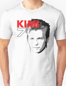 Kimi 7 - Team Garage T-Shirt T-Shirt