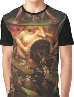 Insight into Hell 3 by Hieronymus Bosch Graphic T-Shirt