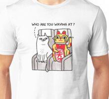 The Waving Cat Unisex T-Shirt
