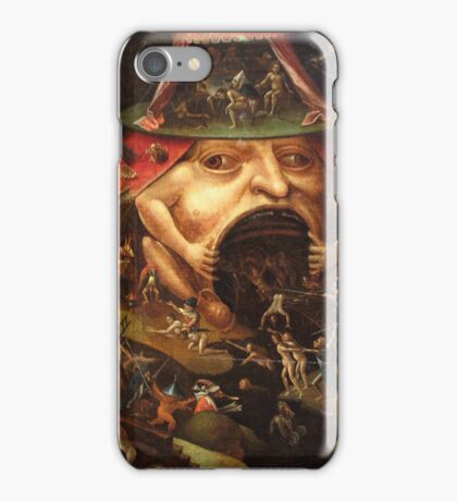 Insight into Hell 3 by Hieronymus Bosch iPhone Case/Skin