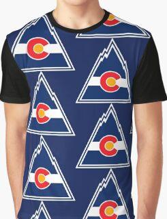 COLORADO ROCKIES HOCKEY RETRO Graphic T-Shirt
