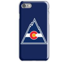 COLORADO ROCKIES HOCKEY RETRO iPhone Case/Skin