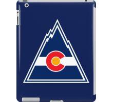 COLORADO ROCKIES HOCKEY RETRO iPad Case/Skin