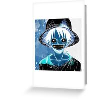 Luffy Smile Greeting Card