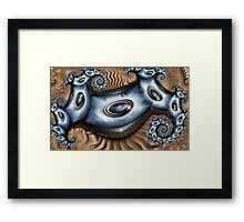 Blue Smile Framed Print