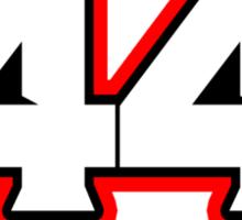 Hamilton 44 Sticker