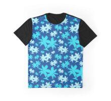 Blue Palm Trees Graphic T-Shirt
