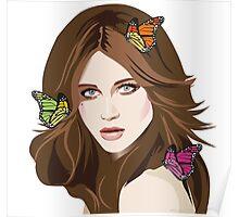 Beautiful Hair Girl 2 Poster