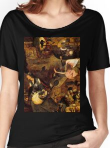 Mad Meg by Hieronymus Bosch Women's Relaxed Fit T-Shirt