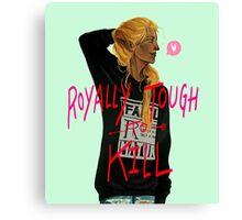 Zevran - Royally Tough to Kill Canvas Print