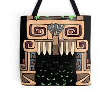 Aztec house Tote Bag