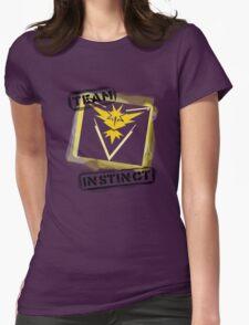 Graffiti Instinct Logo Womens Fitted T-Shirt