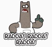 Radda! Radda! Radda!  Kids Tee