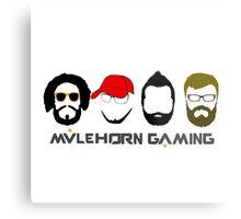 Mulehorn Gaming Podcast Metal Print