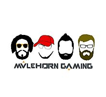 Mulehorn Gaming Podcast Photographic Print