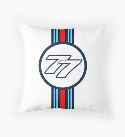 Bottas 77 Throw Pillow