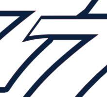 Bottas 77 Sticker