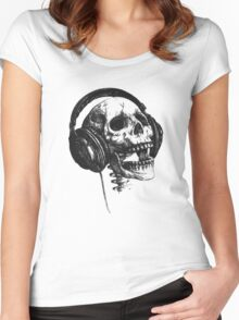 music forever Women's Fitted Scoop T-Shirt