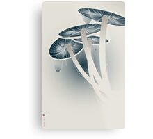 Shrooms Metal Print