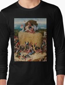 Hieronymus Bosch : The Hay Wain Long Sleeve T-Shirt