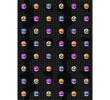 POCKET MONSTERS BALL COLLECTION Photographic Print