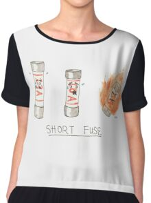 Short Fuse Chiffon Top