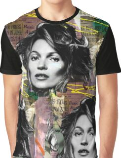 kate moss and biggie Graphic T-Shirt