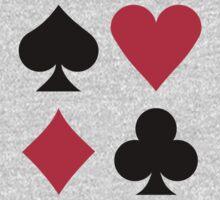 Poker card deck colors Baby Tee