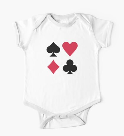 Poker card deck colors One Piece - Short Sleeve