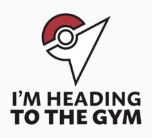 I am heading to the Gym Baby Tee