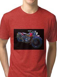 1938 Indian Sport Scout M.C. Tri-blend T-Shirt