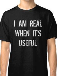 Batman Justice League real when useful Classic T-Shirt