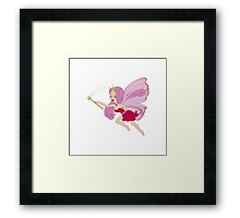 Fairy girl Framed Print