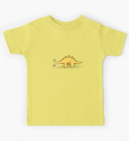 Hello Friend (Dinosaur) - two lof bees Kids Tee