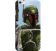 Boba Fett - Colour  iPhone Case/Skin