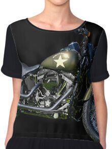 2016 Harley Davidson M.C. Vintage Remake Chiffon Top