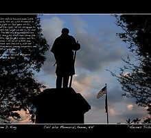 Heroes Tribute - Lincoln's 2nd Inaugural Poster by Wayne King