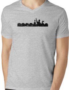 Vintage MST3K - light Mens V-Neck T-Shirt