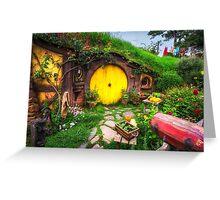 home of Samwise Gamgee Greeting Card
