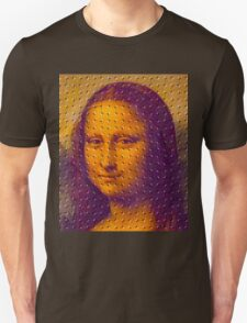 """WHIMSICAL MONA LISA"" ABSTRACT PRINT Unisex T-Shirt"