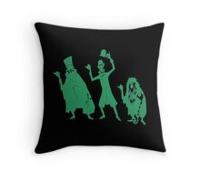 Hitchhiker Halloween Throw Pillow
